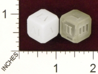 Dice : MINT22 SHAPEWAYS PATRICKVDVELDEN HOLLOW DICE ROMAN
