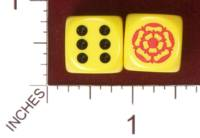 Dice : MINT32 CHESSEX CUSTOM 01 FOR KINGDOM DICE SCA ORDER OF THE ROSE 01