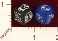 Dice : MINT20 UNKNOWN BLOOD BOWL BLOCK DICE 01