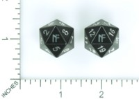 Dice : MINT57 NORSE FOUNDRY D20 JOKESTER