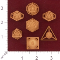 Dice : MINT28 SHAPEWAYS MCTRIVIA FRAME DICE PACK 01