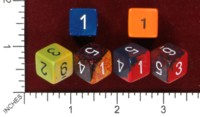 Dice : MINT46 CHESSEX D6