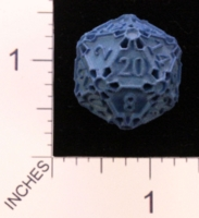 Dice : MINT22 SHAPEWAYS CERAMICWOMBAT HUGE D20 01