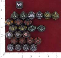 Dice : MINT22 FIVE RINGS PUBLISHING STAR TREK THE NEXT GENERATION COLLECTIBLE DICE BORG SPHERE 01