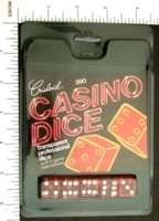Dice : MINT6 D6 CRISLOID CASINO