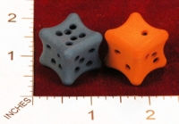 Dice : MINT22 SHAPEWAYS ERIIND NICE DICE BONE SHAPE 01