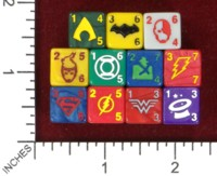 Dice : MINT45 WIZKIDS JUSTICE LEAGUE DICE MASTERS JUSTICE LEAGUE