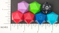 Dice : BRAND DIAMOND D20 OPAQUE 01