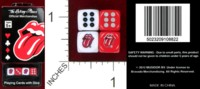 Dice : MINT38 MUSIDOR BV THE ROLLING STONES OFFICAL MERCHANDISE