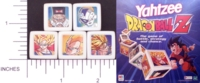 Dice : NON NUMBERED OPAQUE ROUNDED SOLID YAHTZEE 04 DRAGONBALL Z