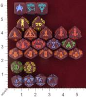 Dice : MINT22 FIVE RINGS PUBLISHING STAR TREK THE NEXT GENERATION COLLECTIBLE DICE GALAXY CLASS STARTSHIP 01