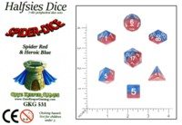 Dice : MINT61 GATE KEEPER GAMES HALFSIES SPIDER DICE
