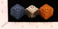 Dice : MINT22 SHAPEWAYS CERAMICWOMBAT MOIRE DIE6 01