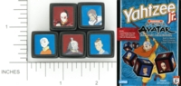 Dice : NON NUMBERED OPAQUE ROUNDED SOLID YAHTZEE 07 AVATAR 01