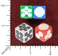Dice : MINT49 MATHARTFUN ERIC HARSHBARGER SPOT DICE