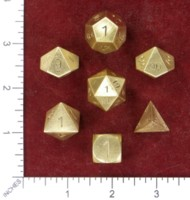 Dice : MINT49 NORSE FOUNDRY BRASS SOLID