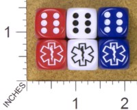 Dice : MINT34 JSPASSNTHRU STAR OF LIFE 01