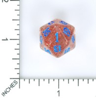 Dice : MINT57 STARWIND DESIGN UNLUCKY D20 RECOLOR