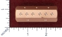 Dice : MINT47 ACE PRECISION COPPER ROLLING LOG