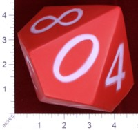 Dice : FOAM2 EAI EDUCATON JUMBO QUIETSHAPE POLYHEDRA DIE 10 SIDED 01