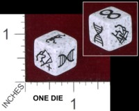 Dice : MINT38 ALBINO DRAGON GENEGRAFTER EXPANSION DIE