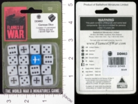 Dice : MINT17 FLAMES OF WAR GERMAN DICE 01