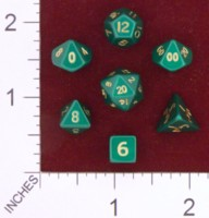 Dice : MINT23 CRYSTAL CASTE METAL GREEN