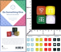 Dice : MINT59 DOVETAIL PRESS DO SOMETHING DICE