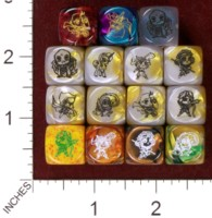 Dice : MINT35 IMPACT MINIATURES CHIBI