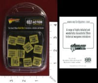 Dice : MINT33 WARLORD GAMES BOLT ACTION ORDER DICE SAND 01