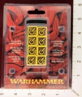 Dice : MINT28 GAMES WORKSHOP MAGIC DICE 04 LORE OF METAL