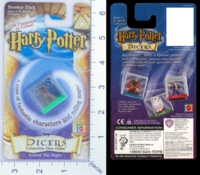 Dice : MINT17 MATTEL HARRY POTTER DICERS FLUFFY 01