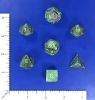 Dice : MINT57 NORSE FOUNDRY RUBY IN ZOISITE