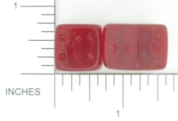 Dice : GLASS D6 ORIENTAL 01
