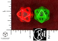Dice : MINT48 STUDIO 6D6 CRIT D20