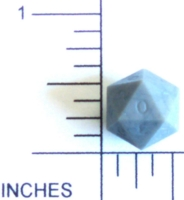 Dice : D20 OPAQUE SHARP SOLID MICROHEDRA 02