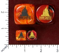 Dice : MINT48 CHESSEX FOR DARK CASTLE COLLECTIBLES