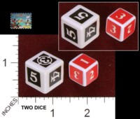 Dice : MINT34 PRESSMAN WEAPONS AND WARRIORS PIRATE BATTLE 01