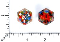 Dice : MINT56 HENGDA MANUFACTURING D20 MOTTLED