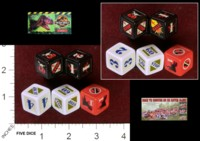 Dice : MINT35 MILTON BRADLEY THE LOST WORLD JURASSIC PARK