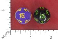 Dice : MINT52 IMPACT MINIATURES D15 D13 RECOLOR