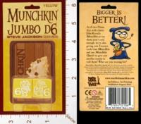 Dice : MINT28 STEVE JACKSON MUNCHKIN JUMBO D6 03