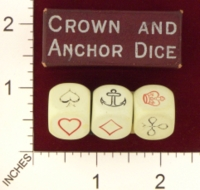 Dice : MINT19 UNKNOWN CROWN AND ANCHOR 01