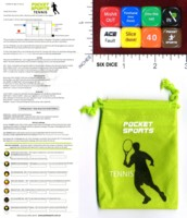 Dice : MINT46 POCKET SPORTS TENNIS