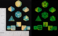 Dice : BRAND CHESSEX GLOW IN THE DARK 01