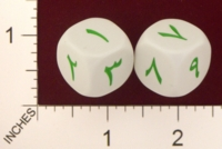 Dice : MINT19 KOPLOW ARABIC NUMBERS 01