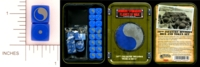 Dice : MINT14 GALE FORCE NINE TD003 29TH INFANTRY DIVISION BLUE AND GREY