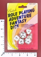 Dice : MINT51 CRISLOID ROLE PLAYING ADVENTURE FANTASY DICE