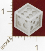 Dice : MINT24 SHAPEWAYS DIZINGOF ART DECO D6 DICE 01
