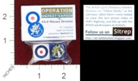 Dice : MINT44 BATTLESCHOOL BATTLEDICE OPERATION MARKET GARDEN 43RD WESSEX DIVISION